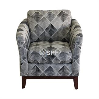 Rosa Accent Chair (Lagoon Black)