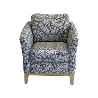 Rosa Accent Chair (Boston Denim)