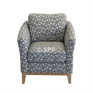 Rosa Accent Chair (Boston Storm)
