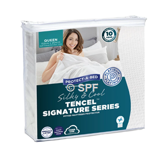 Protect-A-Bed Tencel Signature Series Queen Mattress Protector