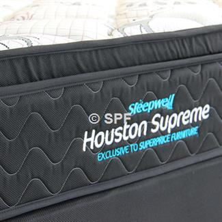 Houston Supreme King Single Mattress and Drawer Base
