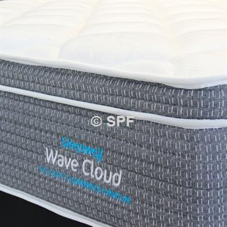 Wave Cloud Super King Mattress and Drawer Base