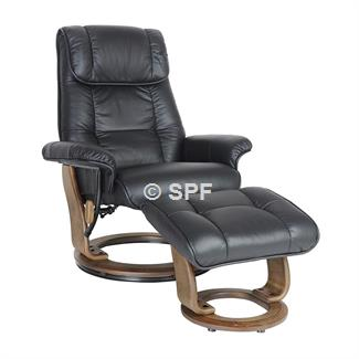 Torcello Full Leather Relax Chair