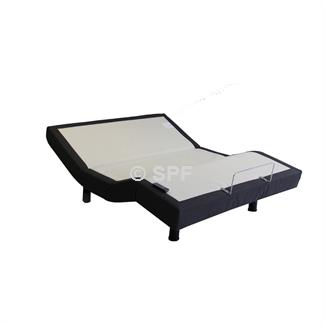 Long Single AF10 Adjustable Base with Mazon Gel Infused mattress