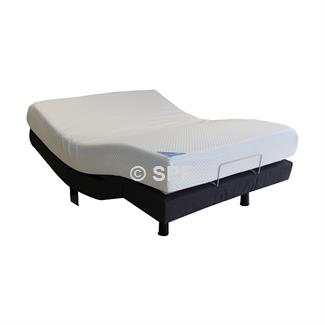 Queen AF10 Adjustable Base with Mazon Support Mattress