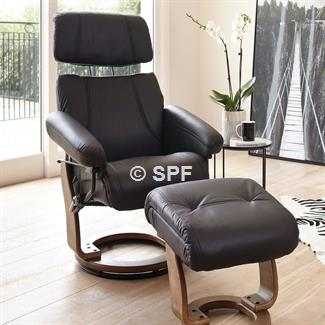 Lorenzo Full Leather Relax Chair