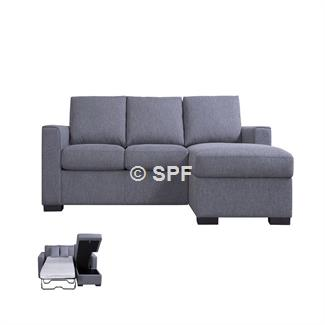 Montreal 3Chaise Sofabed/Storage by John Young