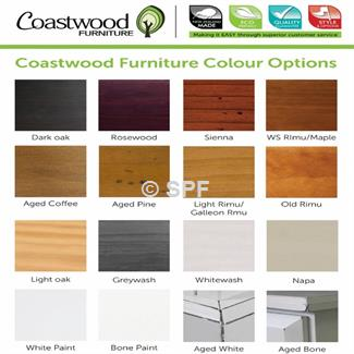 Charlton Hall Table (Shelve & Drw) By Coastwood Furniture