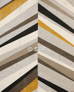 Kline Rug - Natural/Yellow - Multi