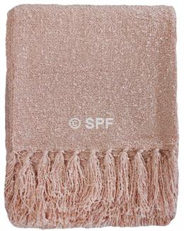 Boucle Throw - Pink