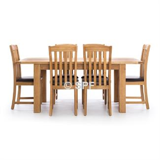 Salisbury 7 Pc. Dining Suite 1500x900 Extension