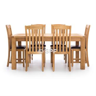 Salisbury 7 Pc. Dining Suite 1800x1000 Extension