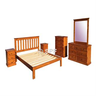Raglan King Single Bed