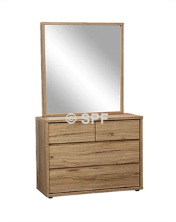 Nico 4 Drawer Dresser And Mirror