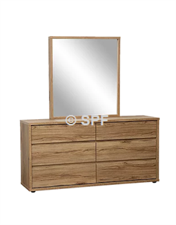 Nico 6 Drawer Dresser And Mirror